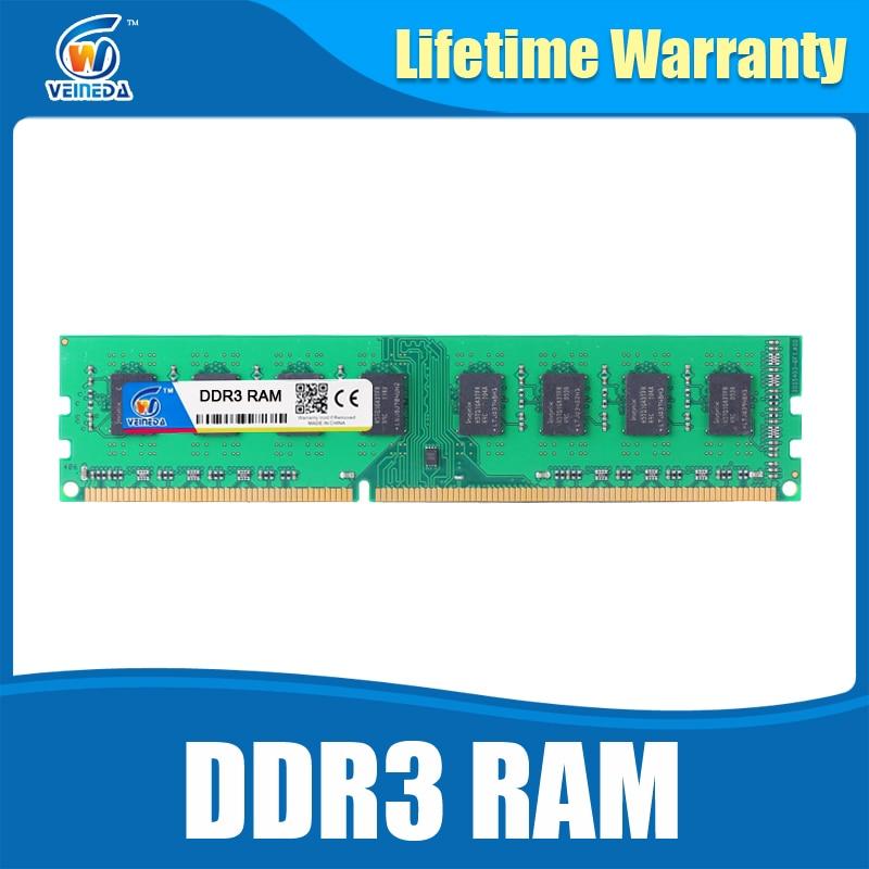 Dimm Ram DDR3 2gb4gb8gb 1600 PC3-12800 Memory Ram For All Intel And AMD Desktop Compatible ddr 3 1333 Ram Lifetime Warranty