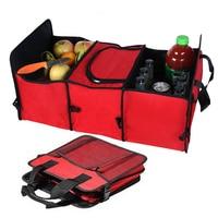 Auto Rear Rack Storage Box Organizer Drink Food Insulation Ice Basket Car Tool Container Automobiles Interior