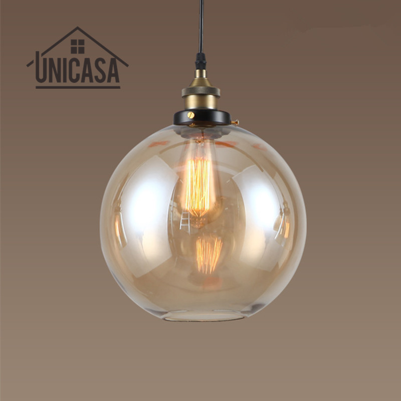 Amber Glass Shade Antique Pendant Lights Industrail Kitchen Island Office Bar Shop Lighting Fixures Vintage Pendant Ceiling LampAmber Glass Shade Antique Pendant Lights Industrail Kitchen Island Office Bar Shop Lighting Fixures Vintage Pendant Ceiling Lamp