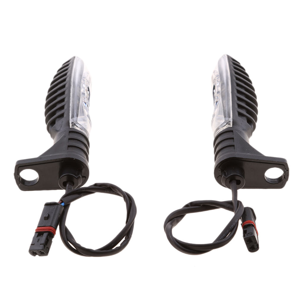 1 Pair Motorcycle Front Rear LED Turn Signal Indicator Light For BMW R1200 F800 F650GS F700GS