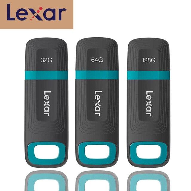 レキサーペンドライブ USB フラッシュドライブ 32 ギガバイト 64 ギガバイト 128 ギガバイト USB3.1 タフ工業用防水 cle メモリア usb メモリディスクキー