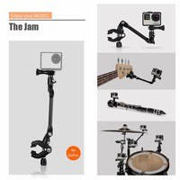 Gopro Accessories The Jam Adjustable Music Mount For Gopro Hero 5 4 3 3 Xiaomi Yi