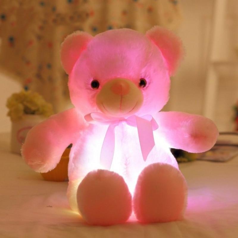 QWZ 50cm creativo Light Up LED oso de peluche animales de peluche - Peluches y felpa - foto 5