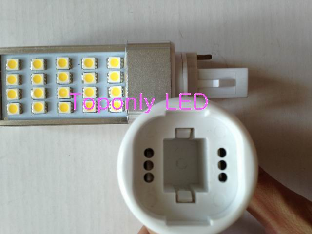 High Quality G23 Gx23 G24 To E27 Retardant Pbt Lamp Holder