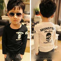 SAILDEROAD Brands Spring and autumn children boys long sleeved t shirt kids clothes retails baby boy girl tops tees t shirt