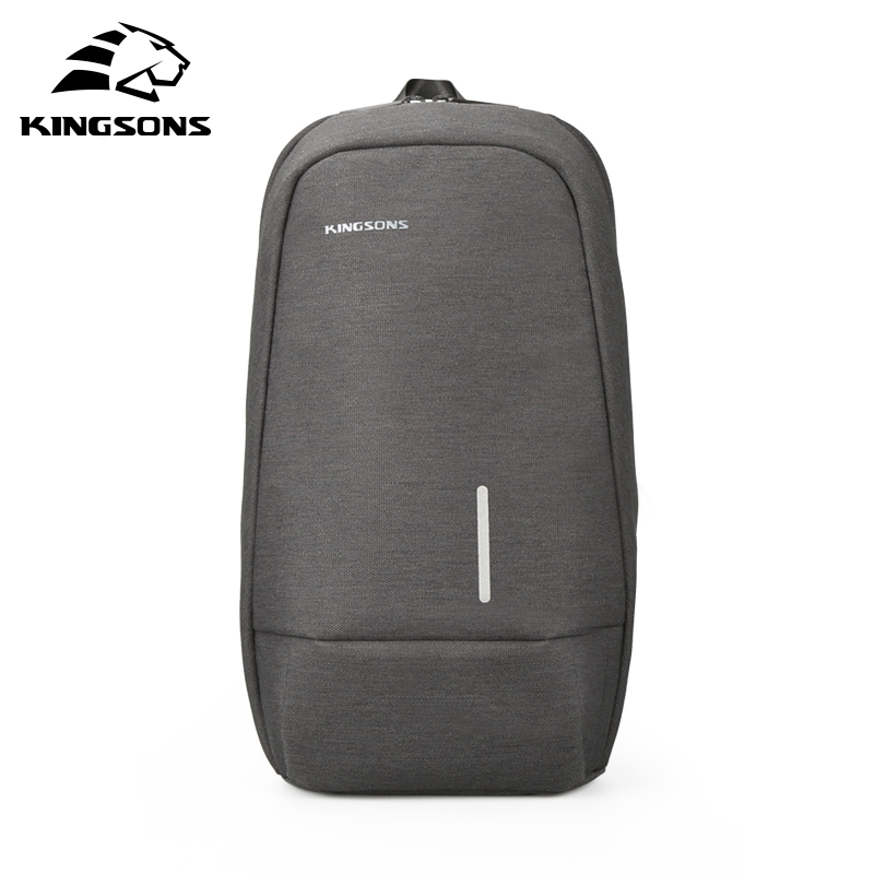 Kingsons  3173-A 2019 New 7.9 Inch Chest Backpack For Men Women Casual Crossbody Bag Leisure Travel Single Shoulder Backpack