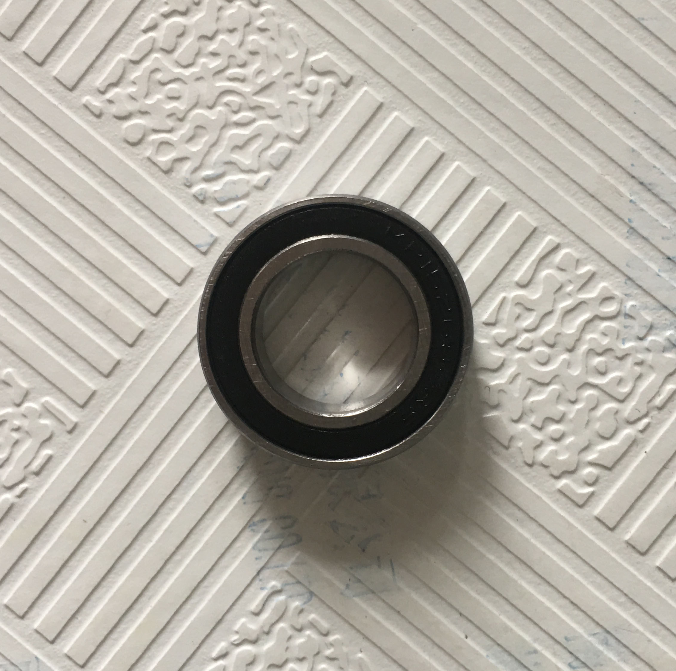 Free Shipping 2 PCS S6010-2RS Bearings 50x80x16 mm Rubber Seal Stainless Steel Ball Bearings цена