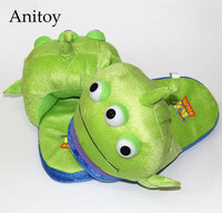 การ์ตูนToy S Tory Alliensบ้านรองเท้าแตะตุ๊กตาบ้านในช่วงฤดูหนาวในร่มรองเท้านุ่มยัดไส้ของ