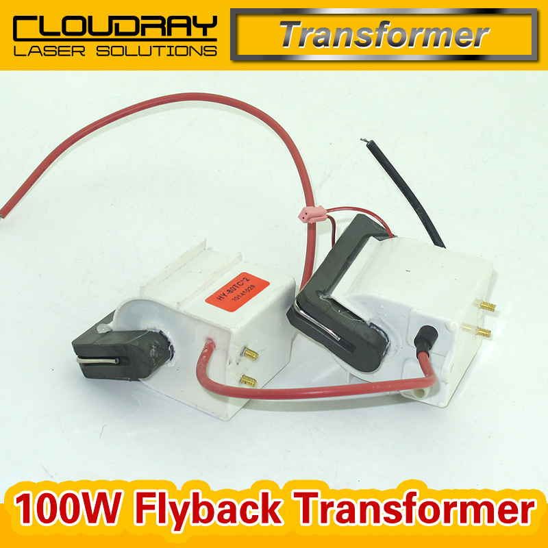 High Voltage Flyback Transformer for CO2 100W Laser Power Supply  цены