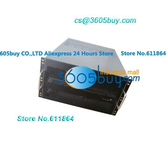 6U alimentation 6 boîtier de carte vidéo châssis GPU