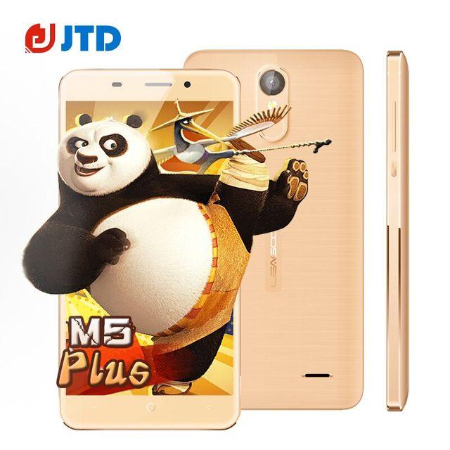 Original Leagoo M5 Plus Mobile Phone Quad Core Android 6.0 5.5'' MT6737 2GB+16GB Dual SIM Fingerprint 4G LTE Smartphone