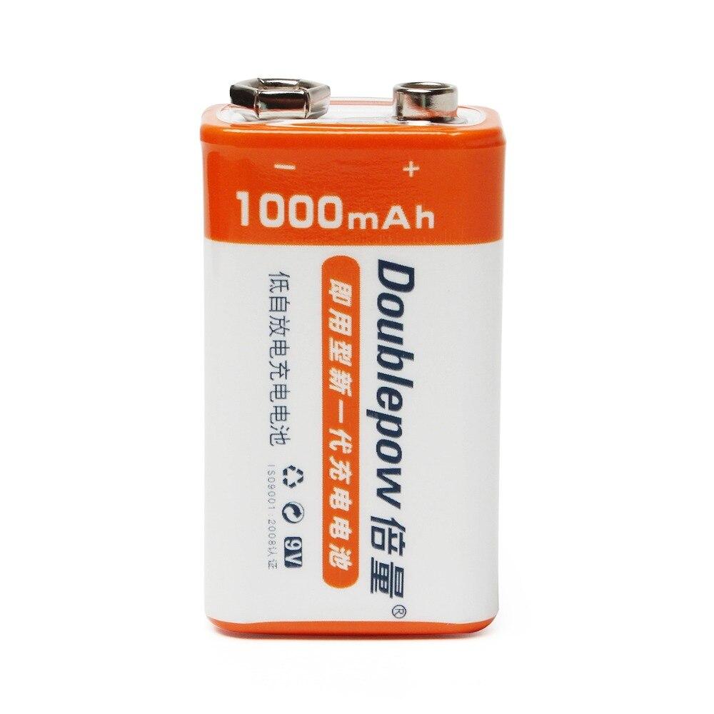 Cncool 16 unids 9 V 1000 mAh LSD Li-ion batería recargable baterías Prismatic para guitarra electrónica de humo