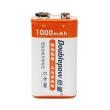 Cncool 16 шт. 9 В в 1000 мАч LSD литий-ионный перезаряжаемые батарея призматические батареи для электронных дым гитары