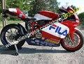 Vendas quentes, Reposição para Ducati 749 999 05 06 749 S 999 S 749R 999R 2005 2006 FILA ABS da motocicleta carenagem ( moldagem por injeção )