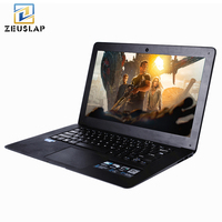 ZEUSLAP 14 inç 8 GB RAM + 120 GB SSD + 750 GB HDD Windows 7/10 Sistemi 1920X1080 P FHD Intel Quad Core Dizüstü Ultrabook Dizüstü Bilgisayar