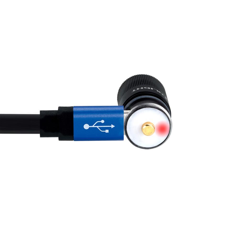 I1r130 Lumens petite lampe de poche Rechargeable porte-clé LED avec batterie intégrée et câble USB Mini Camping randonnée lampe Portable