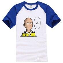 One Punch Man Hero Saitama Oppai Men Cosplay Costume T shirts