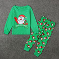 Pajamas Sets Christmas Costume Conjunto Infantil 2-7Years Jumper Tracksuits Boys Santa Claus Clothing Suits Tshirt and Pants