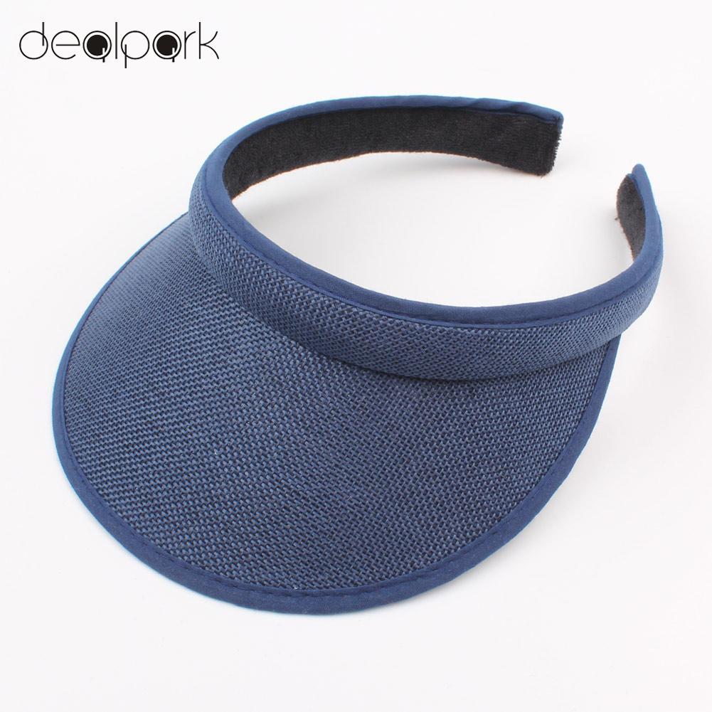 Trend Mark Kids Hat Caps 2019 Summer Sun Visors Cap Empty Top Broad Wide Brim Topless Headband Children Holiday Hat Headwear Lustrous Surface
