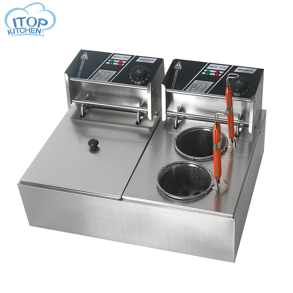Chaudière à pâtes multi-fonction commerciale pâtes et Oden Machine de cuisson cuiseur à nouilles dans la friteuse électrique outil de cuisson 110/220 V