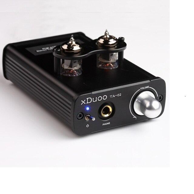 XDUOO TA-02 Высокая Производительность 6J1x 2 Стерео Hi-Fi Наушников Ламповый Усилитель Для Наушников (двойной Лампового УСИЛИТЕЛЯ + Класс BUF)