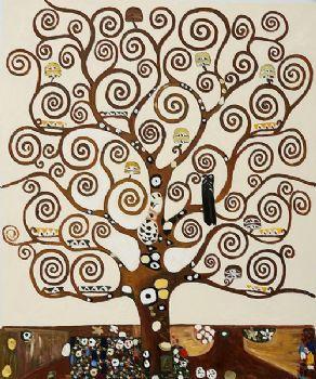 Dipinto A Mano Albero Della Vita Iii Gustav Klimt Pittura A Olio