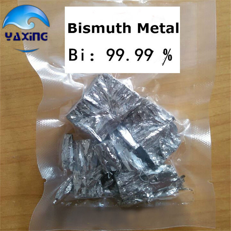 Bismuth Metal, Bismuth 99.99% pure, 100g high pure Free Shipping! bismuth crystals bismuth metal bismuth ingot 1000g high purity 99 995% free shipping