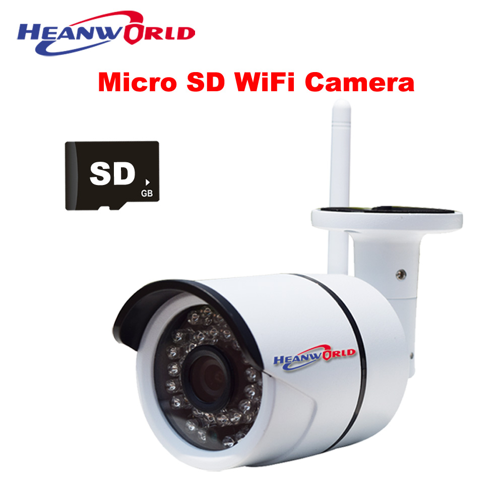 ip camera wifi micro sd 720p security camera wireless. Black Bedroom Furniture Sets. Home Design Ideas