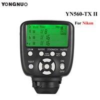 Yongnuo YN560 TX II Manual Flash Controller Transmitter Wireless Trigger For Nikon Camera YN560IV YN660 YN968N YN860Li Speedlite