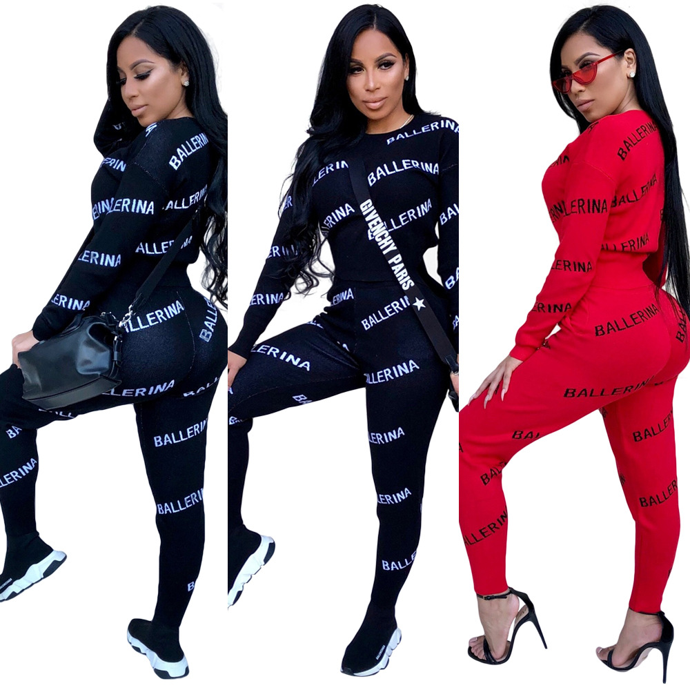 2 TWO PIECE SET Tops + Pants Tracksuit Plus Size Joggers Pants Track Suits Leisure Sweatsuits For Women Clothing Costumes Spring