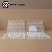 Capsule Filling Machine,400 Holes Capsule Filling Board Without Tamping Tool Can Customize 00#,0#,1#,2#,3#,4#,5#