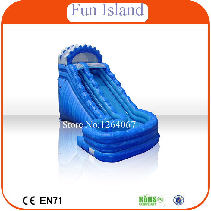 Guangzhou Factory Inflatable Waterslide/Inflatable Water Slide Manufacturer new inflatable slide wave slide slide ocean hx 886
