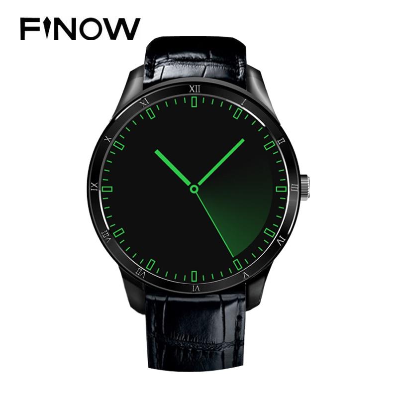 imágenes para Muñeca Inteligente Reloj MTK6580 Finow Q5 Android 5.1 OS 1.39 pulgadas OLED Pantalla 512 MB + 4 GB BT 3G Wifi Sim SmartWatch Compatible todo teléfono