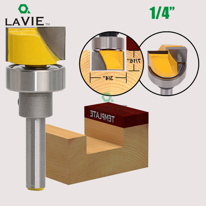 LA VIE 1pc 1/4 Shank Square Groove Profile Carving Router Bit Door Wood Panel Cutter Knife Woodworking Milling Cutter Tool 01008 new luthier tool electric violin purfling groove cutter q1
