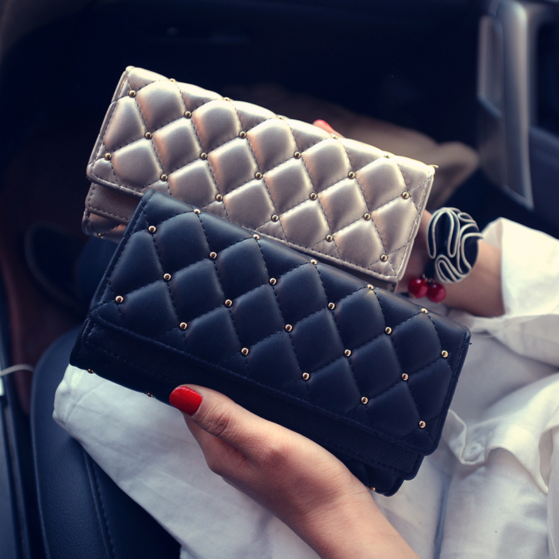 New Women Wallet Female Purse Fashion Clutch Leather Famous DrandLong Wallets Passport Cover Money Clip carteras