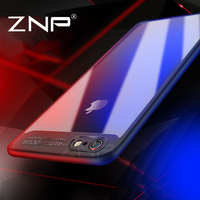 ZNP Slim Case for iPhone 6 6s plus Transparent PC & TPU Silicone Phone Cases for iPhone 6 6Plus Cover Coque for iPhone 6 Case