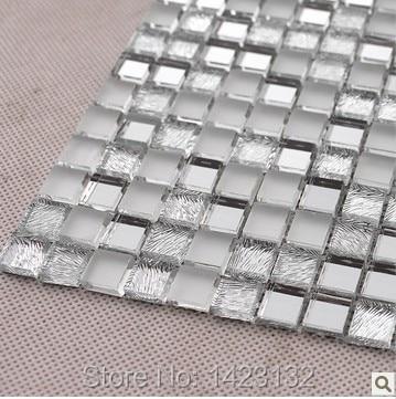 crystal glass tile backsplash silver glass mosaic tiles z181 mirror