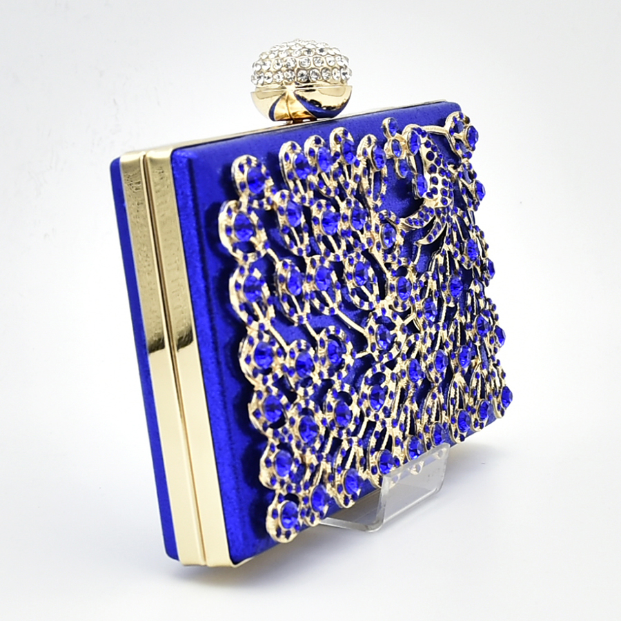 Colore Italiana 4 Di Con Scarpa Italiani Borsa Strass Beads Monili E Scarpe Decorato 2 1 Royal Africani Blu Nigeriano Insieme Africano 3 Corrispondenza rqBfrz