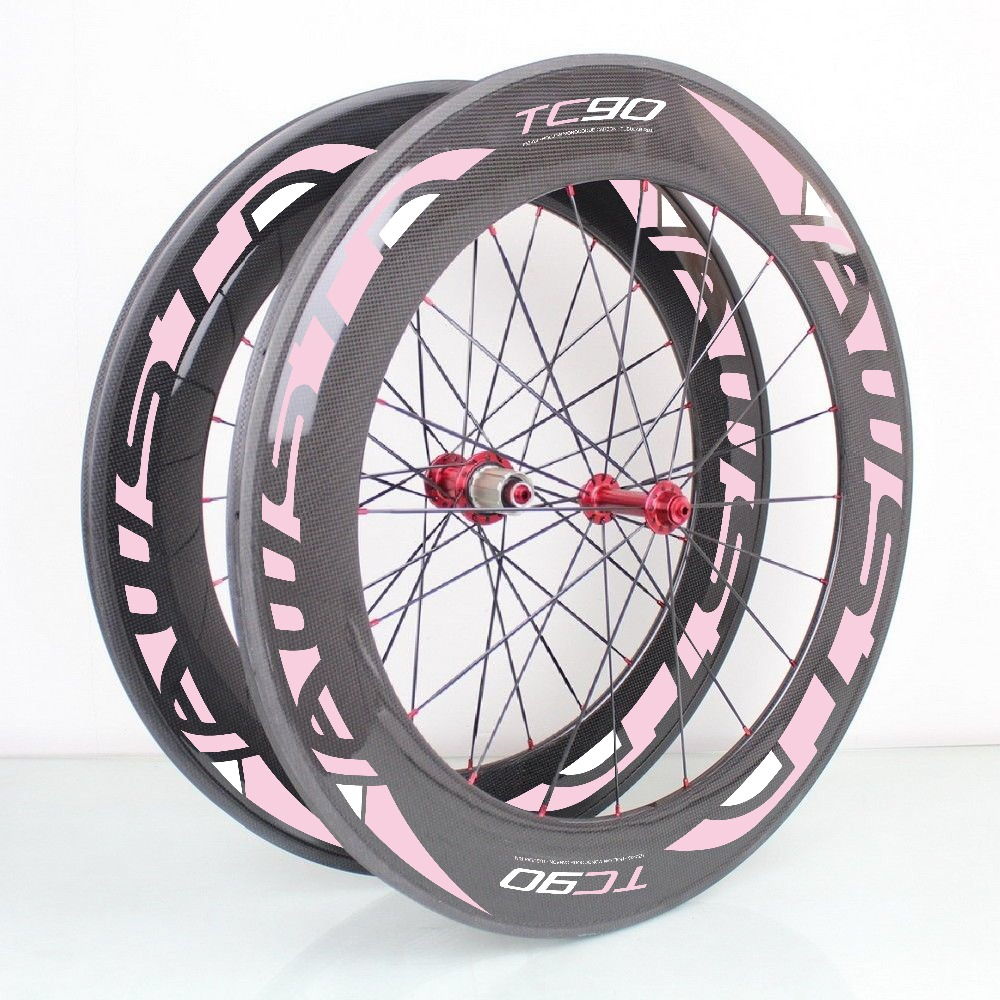 88mm carbon clincher bicycle wheel free shipping carbon road wheels with ceramic bearing hubs free painting clincher 88mm carbon fiber straight pull road bicycle wheel 23mm width wholesale
