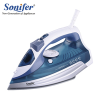 2200W Original Colorful Portable Electric Steam Iron For Clothes 220V Three Gears Ceramicsoleplate Sonifer