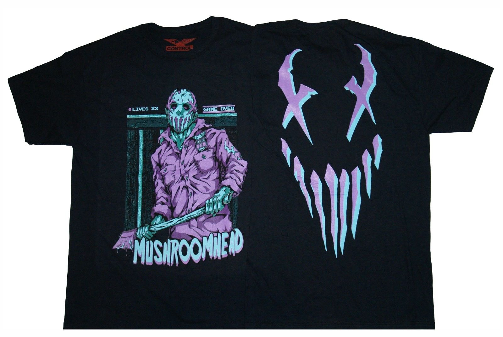 MUSHROOMHEAD - Friday The 13th Jason Voorhees T SHIRT S-M-L-XL-2XL New Official Short Sleeve Round Neck T-Shirt Promotion ...
