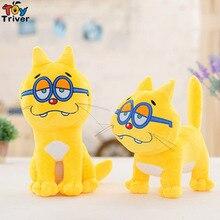 25cm Anime Osomatsu San Ichi Matsu Cute Plush Yellow Cat Soft Stuffed Toys Dolls Great Gifts For Kids Triver цена 2017