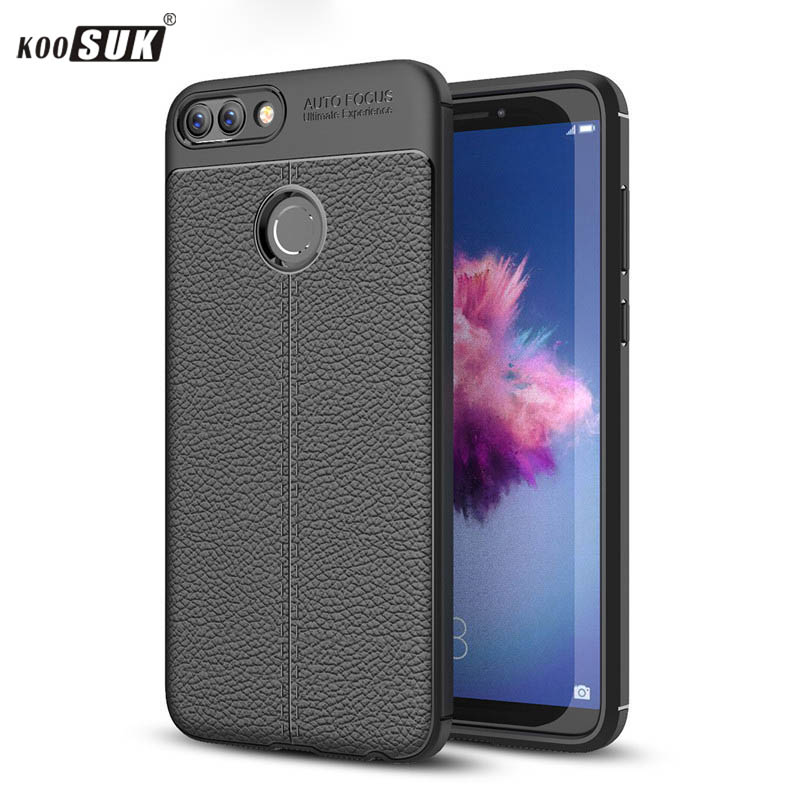 KOOSUK Cover For huawei P Smart Case For Enjoy 7S Smartphone Soft Silicone Case For Huawei Enjoy7S 7 S Case Back Cover Fundas