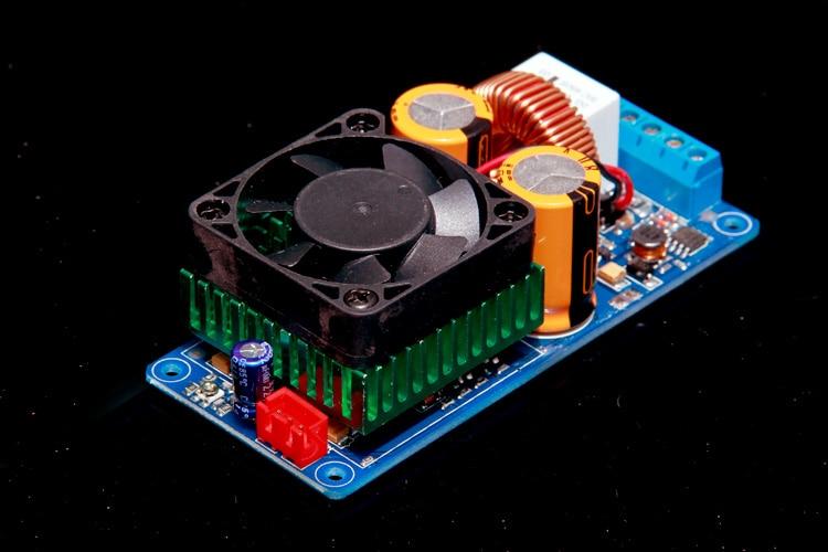 Class D Power amp IRS2092S 500W mono HIFI digital amplifier board With fan jungson ja 2 ja 100 standard version pre amplifier and power amplifier amp hifi amplifier mono amp mono amplifier pure class a