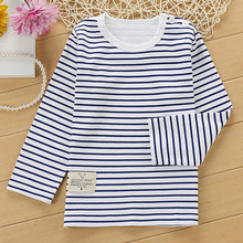 2019 new long Sleeve boys T-shirts 100% cotton girls tops clothes t shirt quality children's tshirt kids clothes shirt стоимость