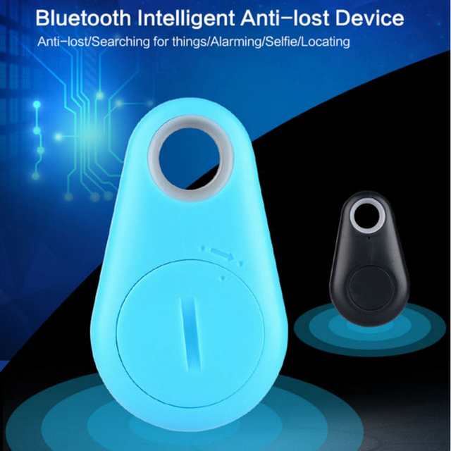 5 Colors Wireless Bluetooth 4.0 Mini Tracker Anti-Lost Anti-Theft Bluetooth Locator For Kids Pet Dog Car Motorcycle Tracker