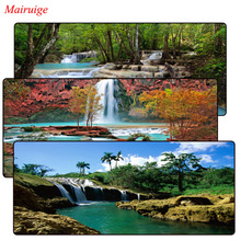 Mairuige Tropical Waterfalls Mouse Pad Large Pad for Laptop Mouse Notbo