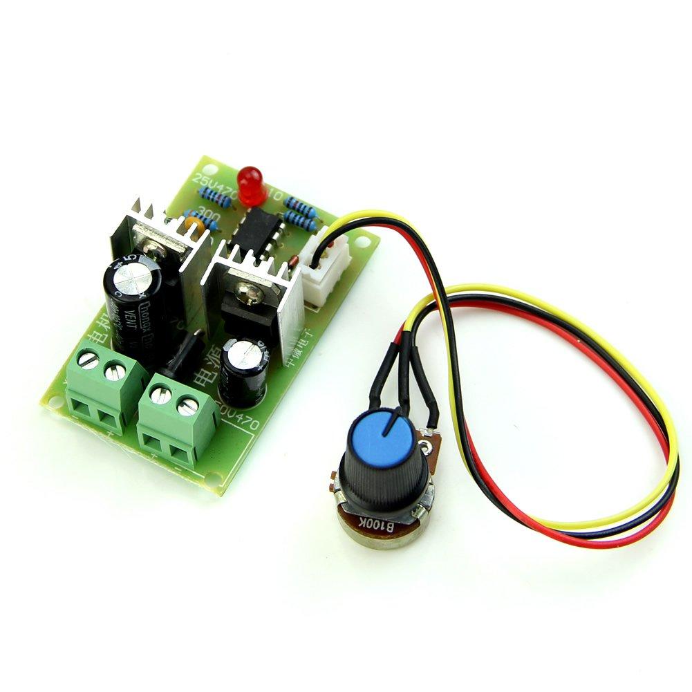 LIXF-12V/24V/36V Pulse Width PWM DC 3A Motor Speed Regulator Controller Switch