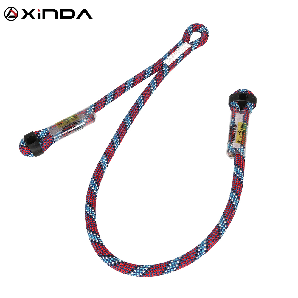 Professional Rock Climbing Supplies High Altitude  Anti Fall Off Protective Safety Belt Cowstail High Strength Wearable belt