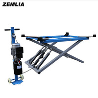 Good Quality 3T Small Car Lift Movable Type Scissors Lifting Repairing Platform For Car